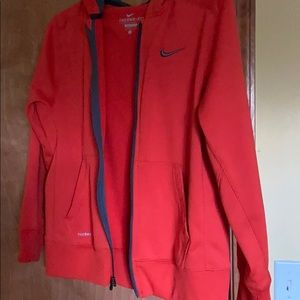 Boys Nike Zippered Sweatshirt Size Large